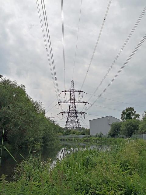Pylon, near the River Lea
