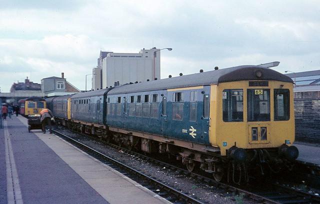 British Rail class 100 diesel unit Cambridge (#35)