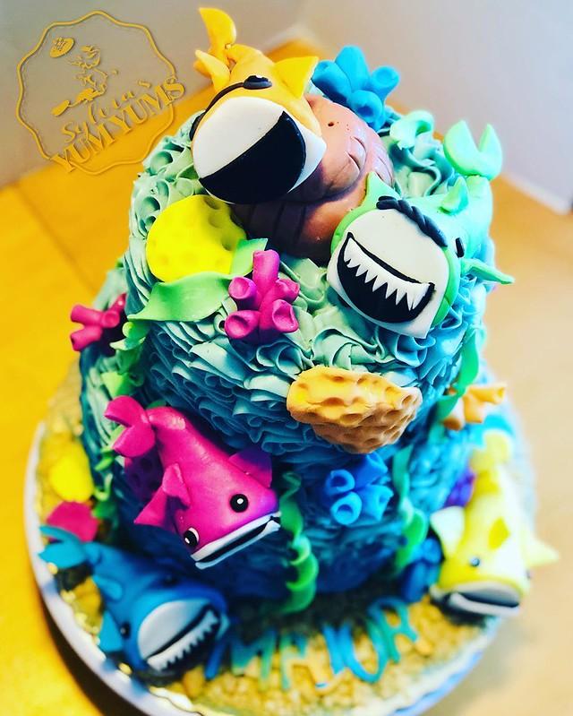 Cake by Sylvia's YumYums