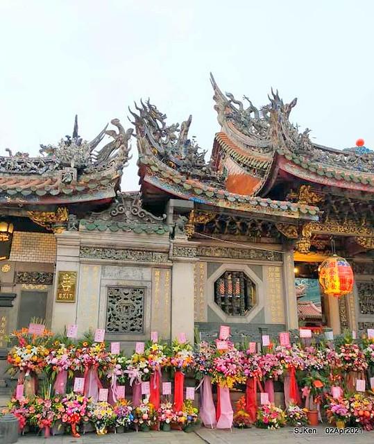 「龍山寺」(Longshan temple), Taipei, Taiwan, SJKen, Apr 2,2021.