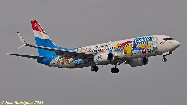 LX-LGU - Luxair - Boeing 737-8C9 (WL) - PMI/LEPA
