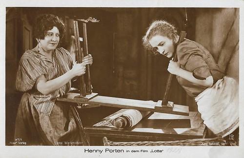 Henny Porten and Lotte Werkmeister in Lotte (1928)