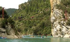 A bridge in the gorge of Montrebei - LLEIDA (CATALONIA)
