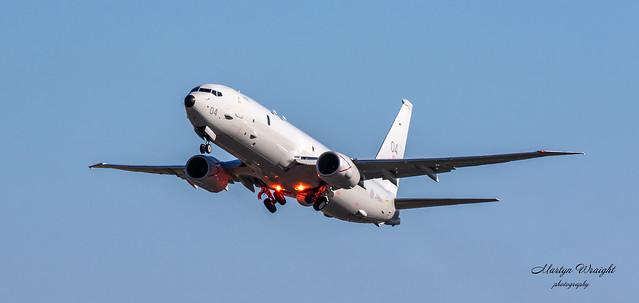 "RAF P8 Poseidon ZP804 ""Spirit of Reykjavik"""