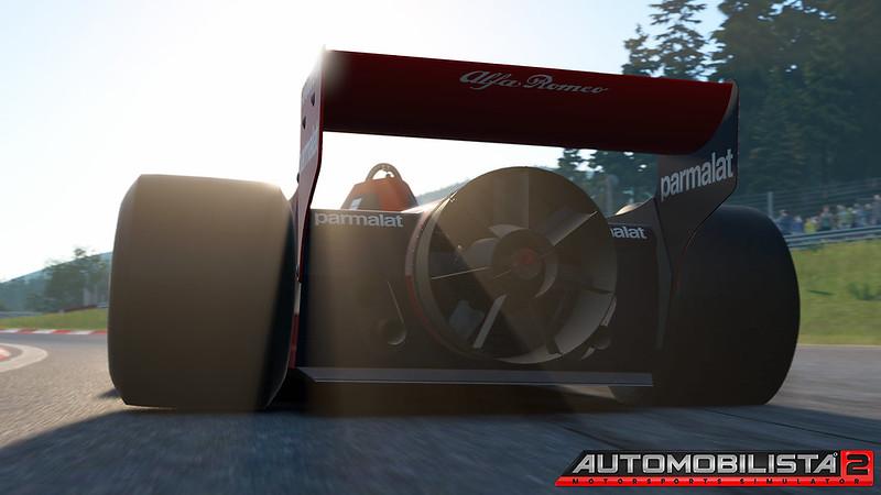 AMS 2 Brabham BT46B rear