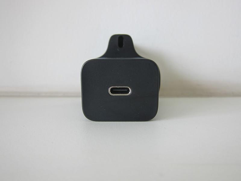 Baseus 20W USB-C PD Charger - Front