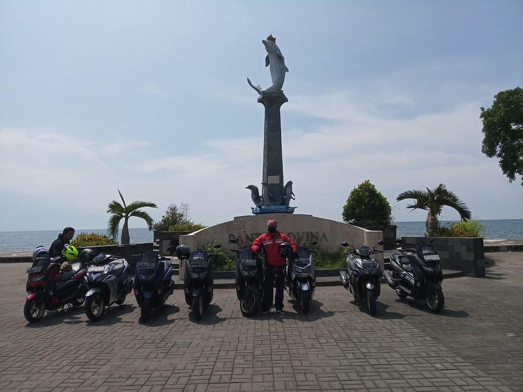 Touring blogger Bali