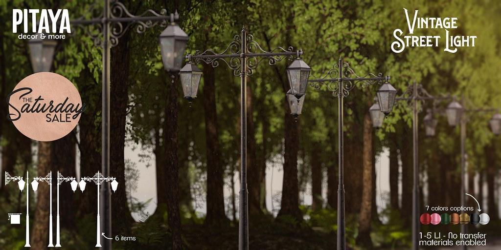 Pitaya – Vintage Street Light AD TSS