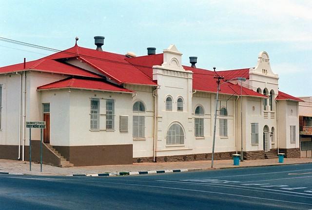 Windhoek: Turnhalle in der Bahnhofstrasse