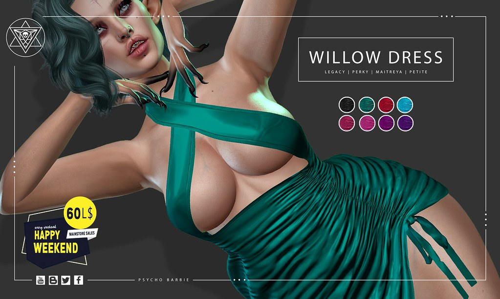Willow Dress @ Happy Weekend Sale 60L