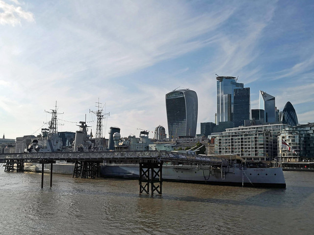 HMS Belfast, the City and the Thames