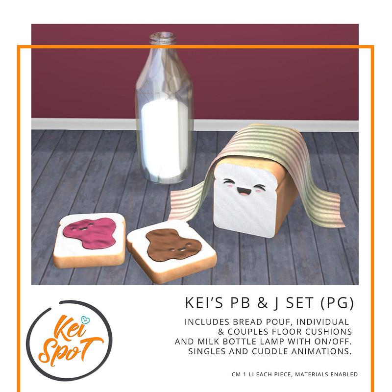 Kei's PB & J Set PG new