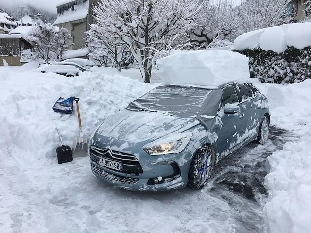 2012 Citroën DS5 So Chic CA-997-SB (37) - 30 décembre 2020 (Tempête hivernale - Mont-Dore)