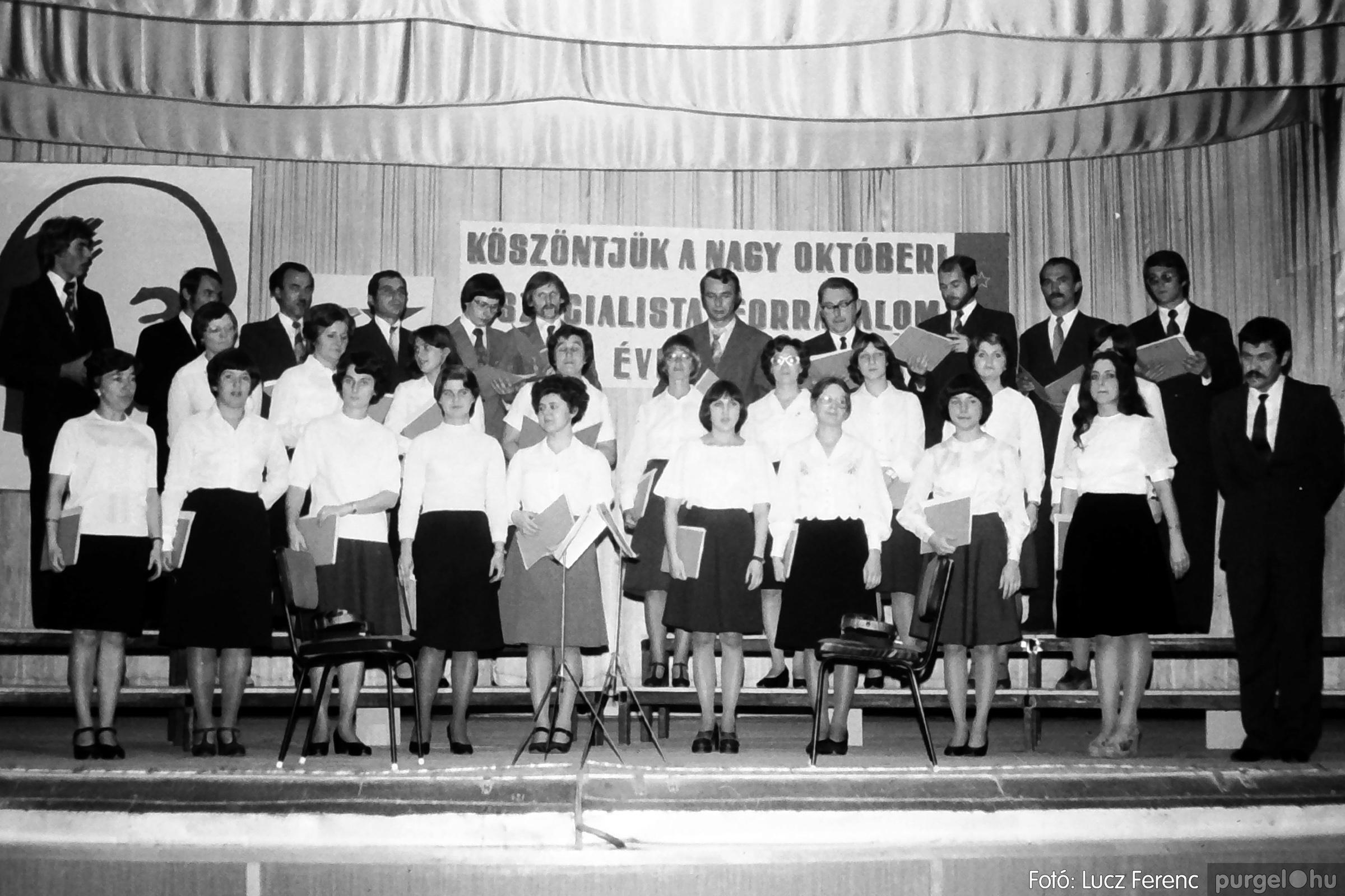 094. 1977.11.07. November 7-i ünnepség 023. - Fotó: Lucz Ferenc.jpg