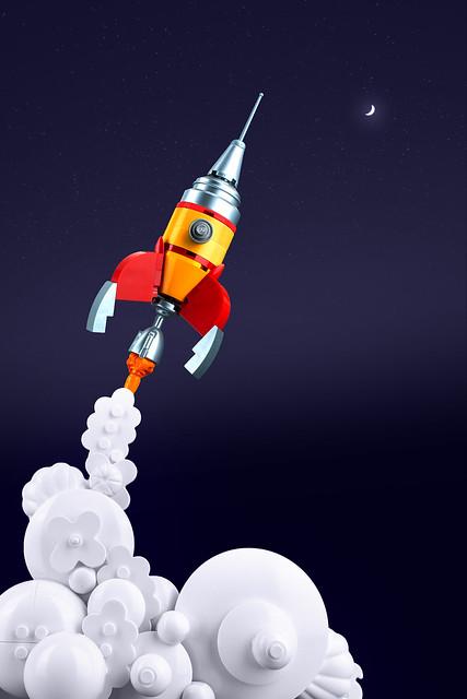 101 Bricks: Liftoff!