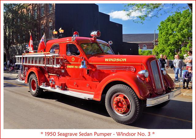 1950 Seagrave Sedan Pumper - Windsor No. 3