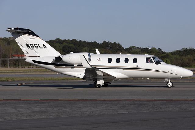 N86LA - Cessna 525 CitationJet CJ1 - KPDK - 01 Apr 2021