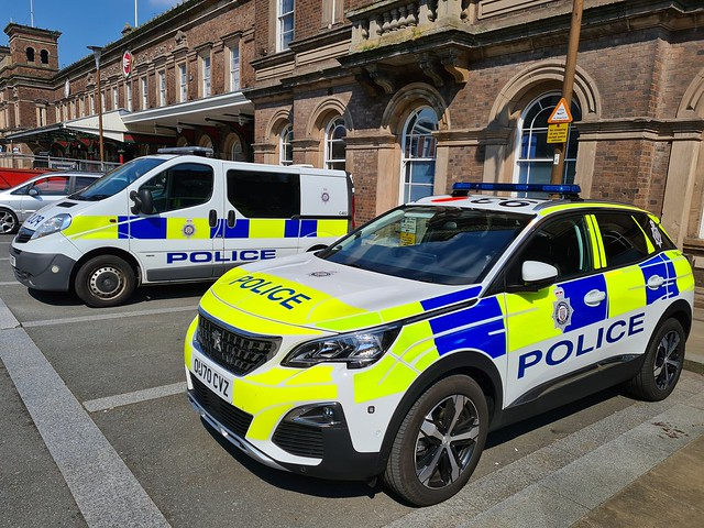 BTP at Chester Railway Station