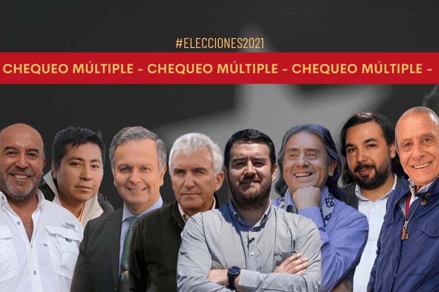 Chequeo múltiple: Propuestas de los candidatos a la gobernación por la región de La Araucanía