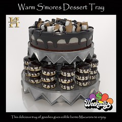 Hill - Warm Smores Dessert Tray - !!WEEKNDLY SALE!!
