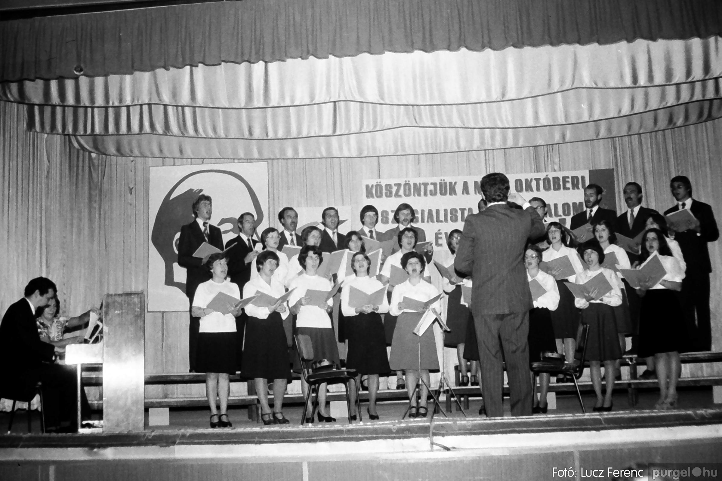 094. 1977.11.07. November 7-i ünnepség 021. - Fotó: Lucz Ferenc.jpg