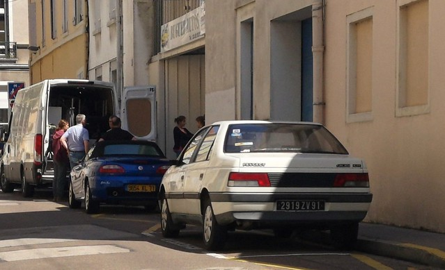 Peugeot 405 & MG TF