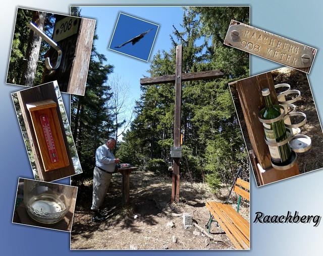 Beim Gipfelkreuz vom Raachberg / At the Raachberg summit cross