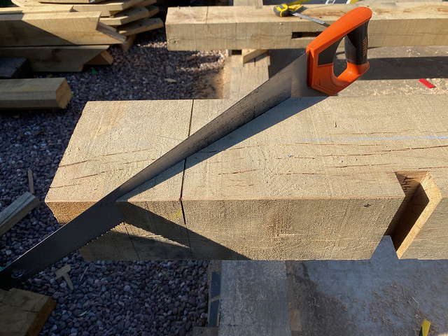 Tie beam ends - 2