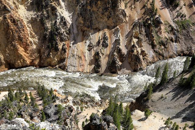 The roaring river // La rivière rugissante