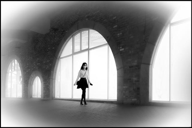 Street under the viaduct - CORONAVIRUS TIME
