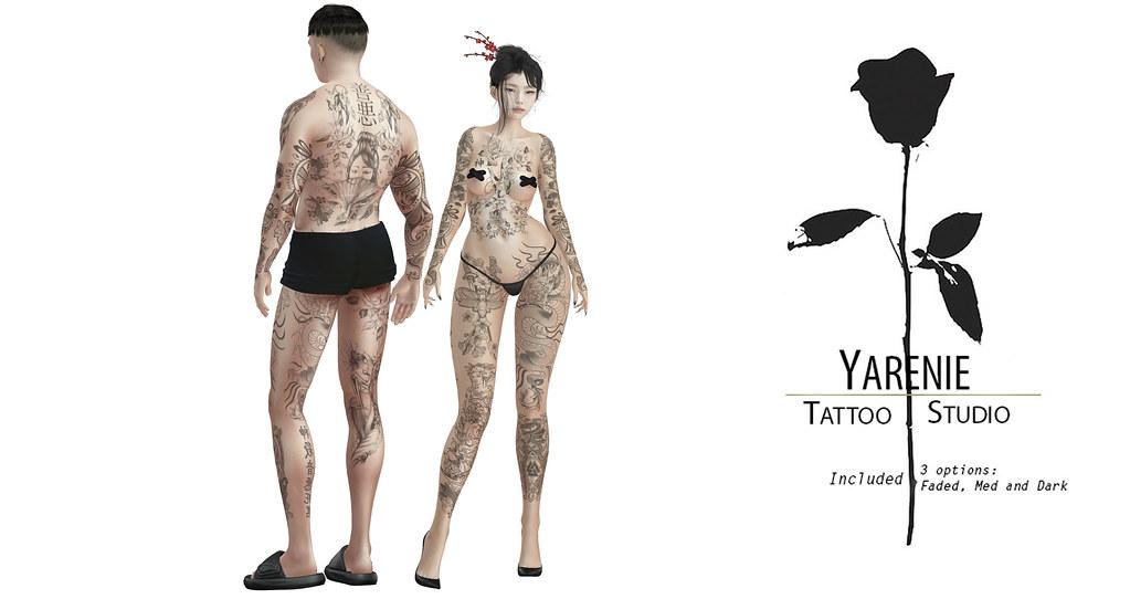 Kiyori Unisex Tattoo