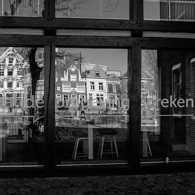 ©RGS-My view on Shadows and Reflections II. Zwolle.