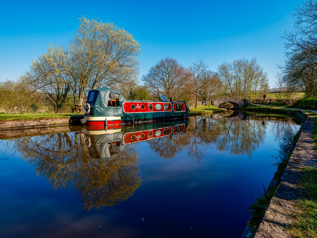 Take Five on Brecon Canal