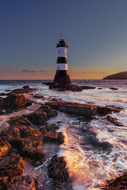 Trwyn Du Lighthouse, Penmon