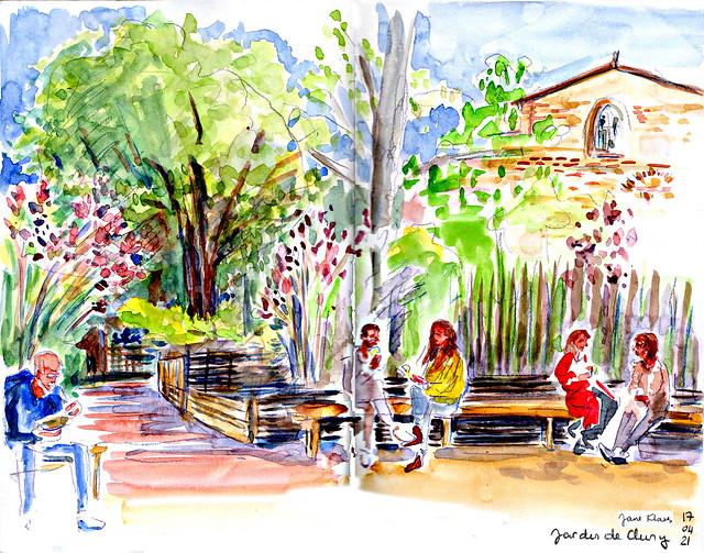 Jardin de Cluny, Paris 5ème