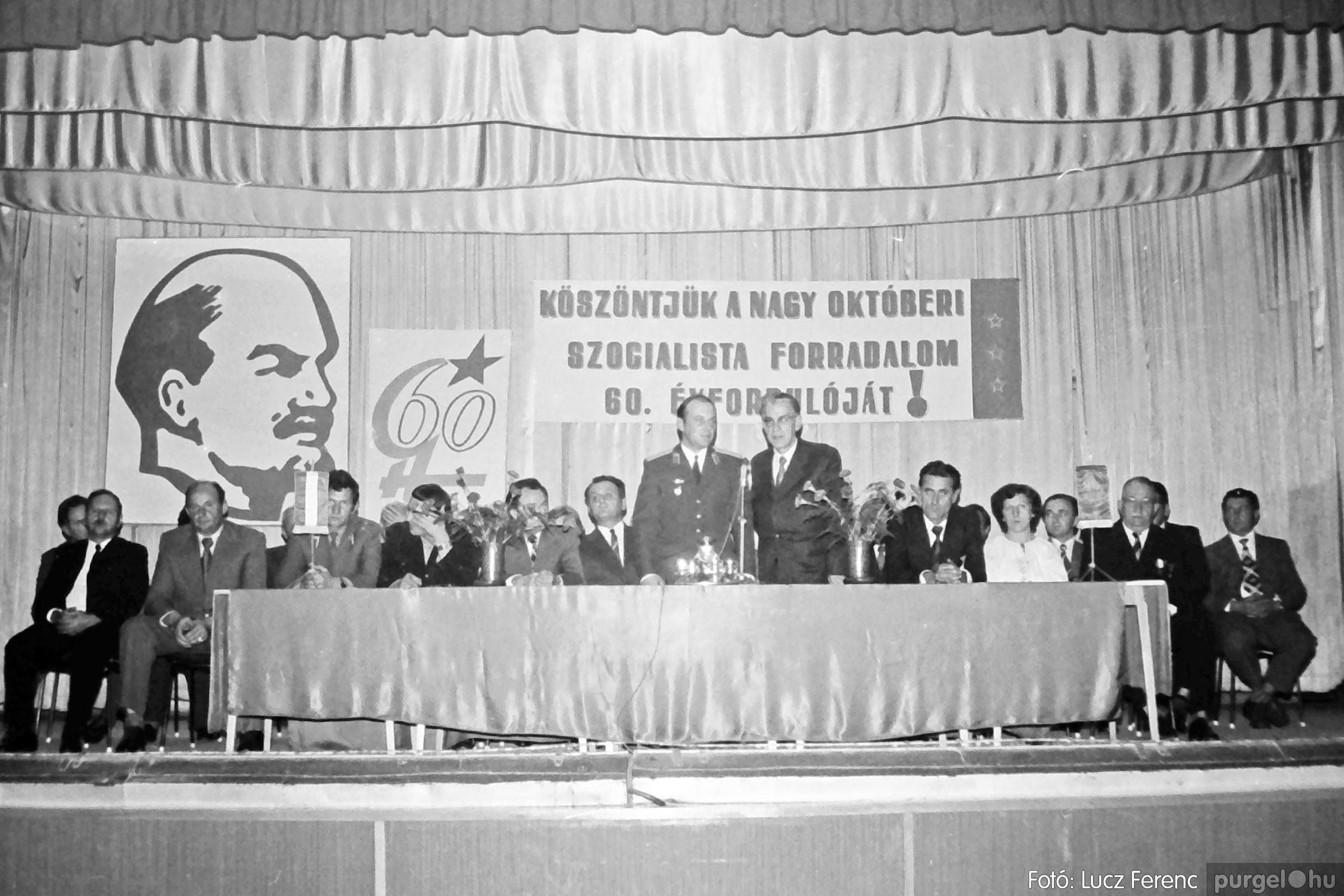 094. 1977.11.07. November 7-i ünnepség 017. - Fotó: Lucz Ferenc.jpg