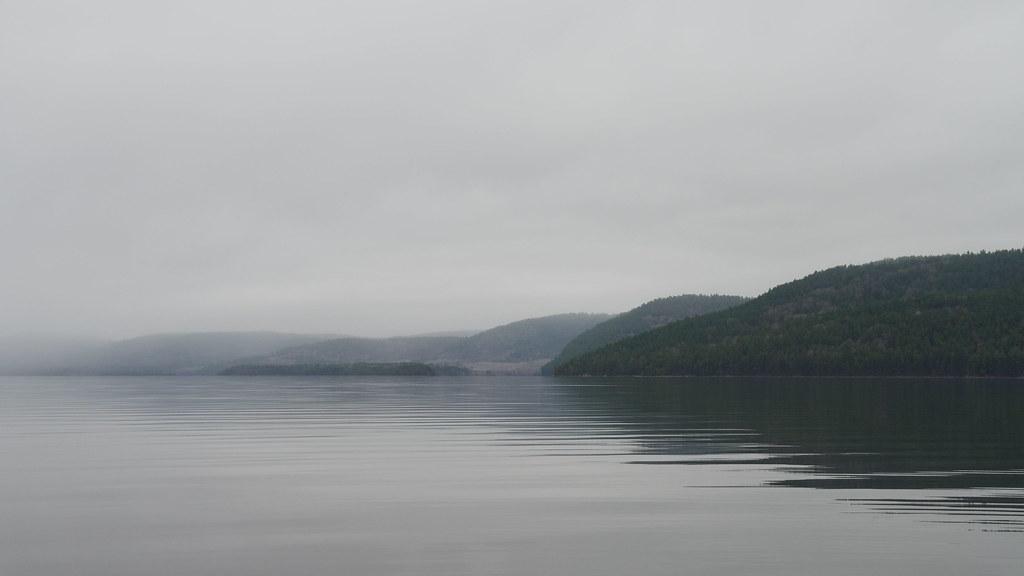 Looking into Lower Presqu'ile Bay