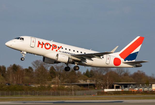 F-HBXD HOP! EMBRAER ERJ-170STD (ERJ-170-100)