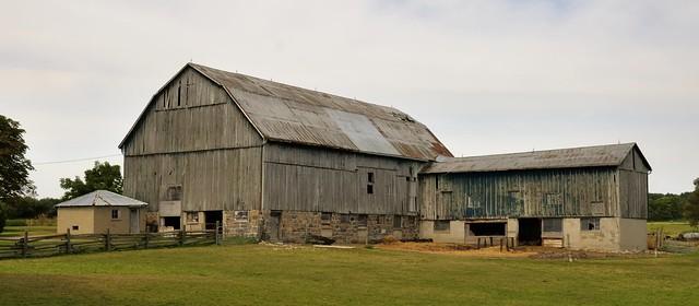 Old farm buildings, Durham Region, Ontario