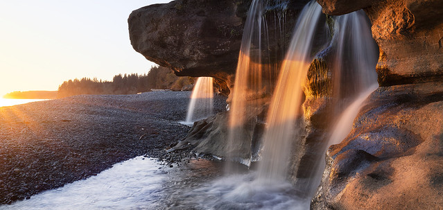 Sandcut Falls