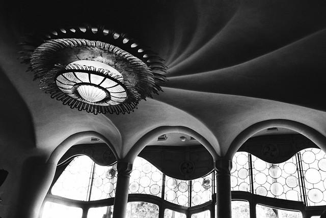 Ceiling at Casa Batllo