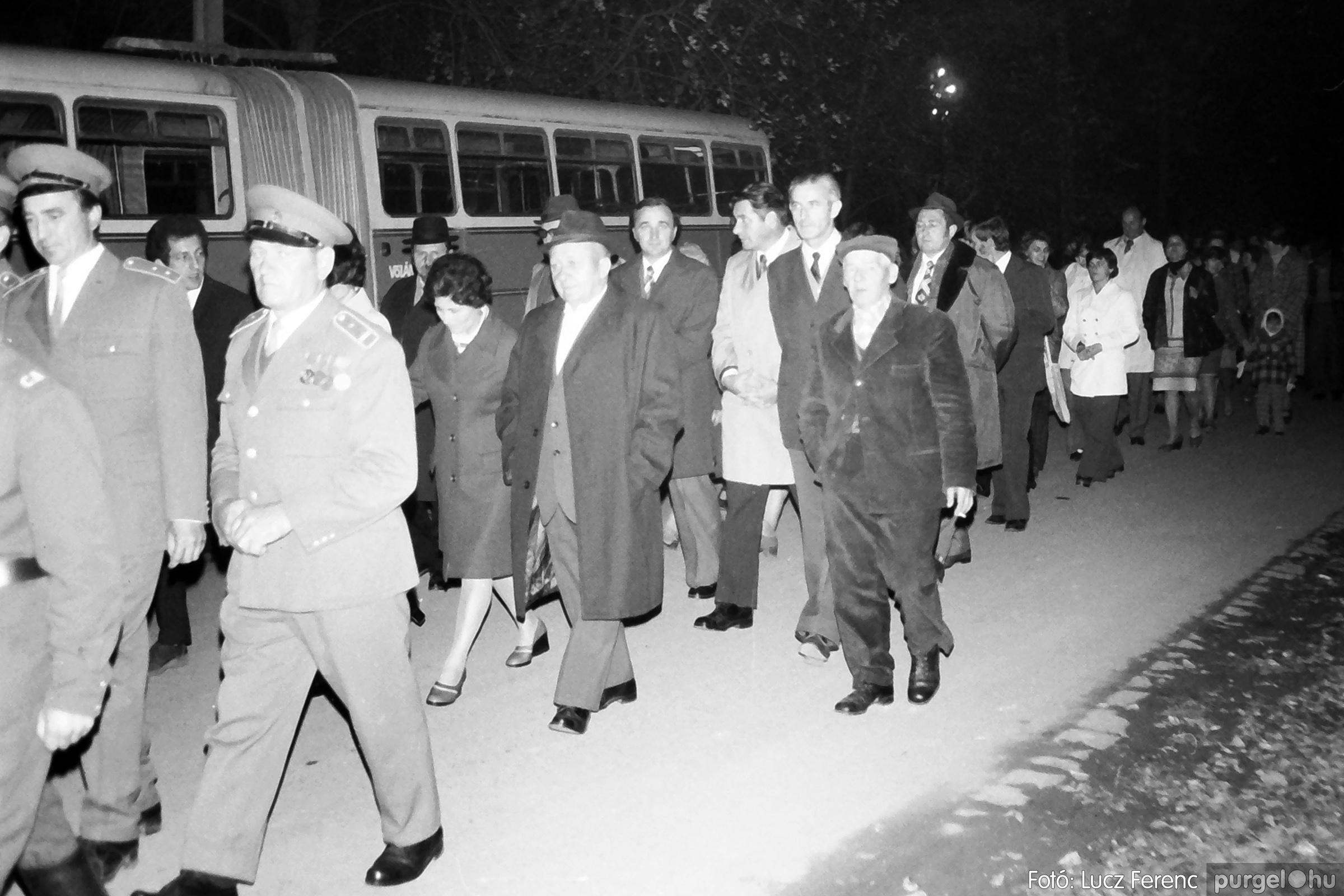 094. 1977.11.07. November 7-i ünnepség 004. - Fotó: Lucz Ferenc.jpg