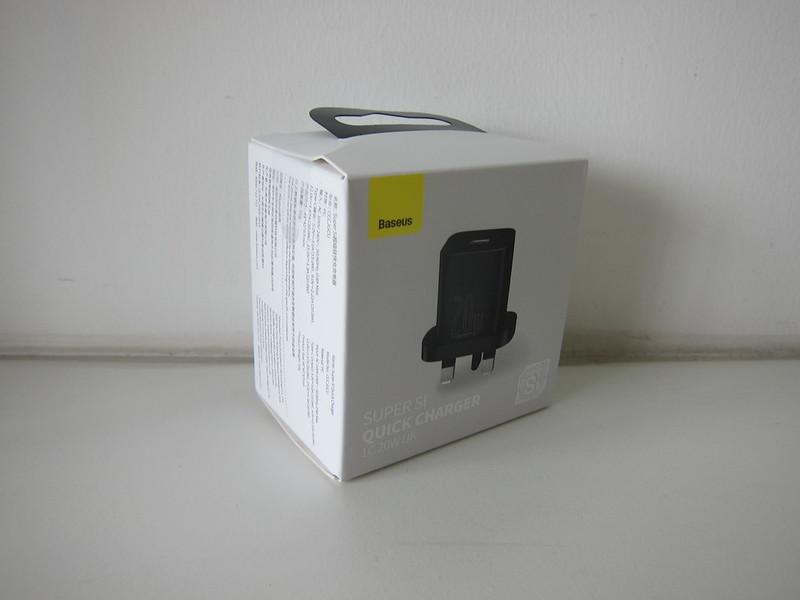 Baseus 20W USB-C PD Charger - Box
