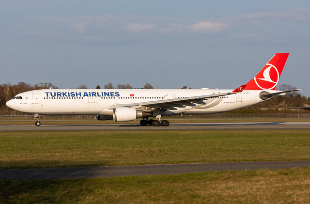 TC-JOD TURKISH AIRLINES AIRBUS A330-303
