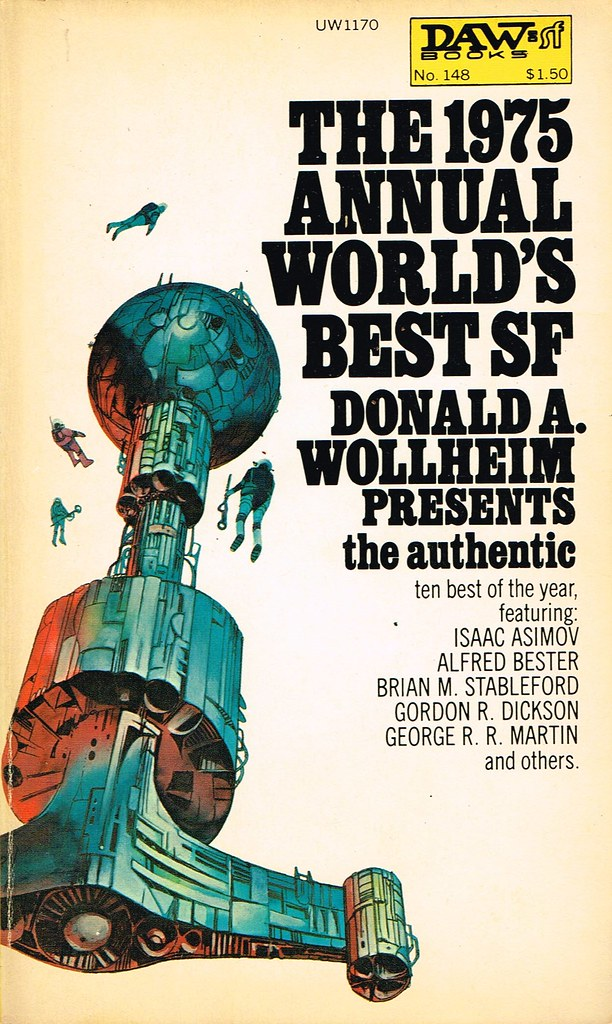 The 1975 Annual World's Best SF edited by Donald A. Wollheim