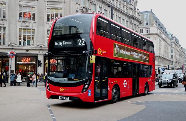 Go  Ahead London General - EH108 - YY66OZP
