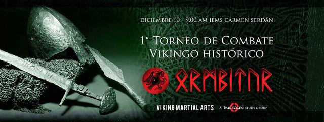 1er Torneo de Combate Vikingo Ormbitur 'Copa Sigurdr 2016'