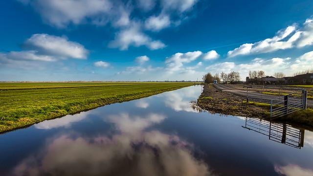 A typical Dutch polder