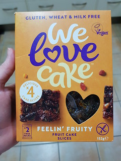 We Love Cake Vegan Fruit Cake