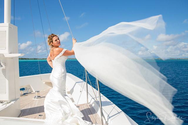 Michele & Chuck - Tahitian Wedding - Bora Bora 7/7/2017